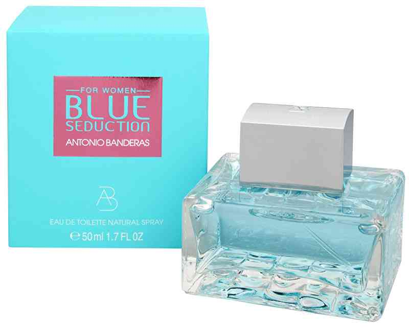 Antonio Banderas Blue Seduction For Women - EDT 50
