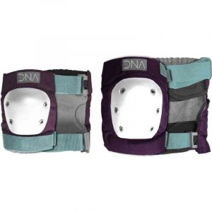 CHRÁNIČE DNA WINE KNEE AND ELBOW PACK - fialová