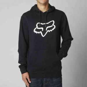 MIKINA FOX LEGACY FOXHEAD PO FLEECE - černá - XL