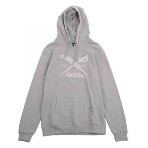 MIKINA IRIEDAILY TERRY FLAG HOODY - šedá - L