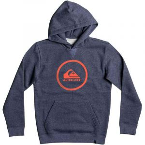 MIKINA QUIKSILVER BIG LOGO HOOD YOUTH BO - antracitová - L/14