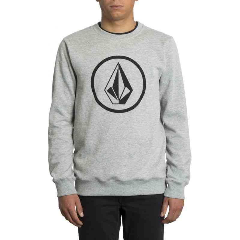 MIKINA VOLCOM Stone Crew - šedá - XL