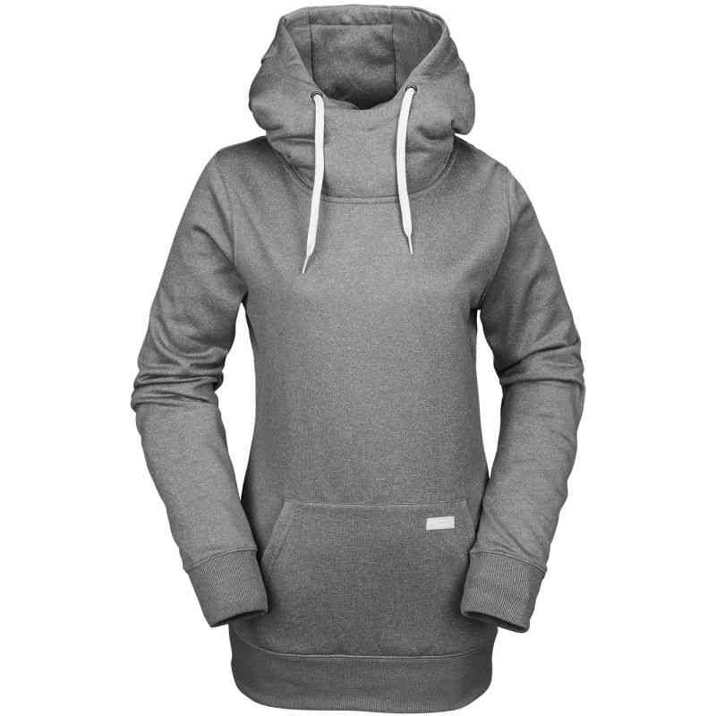 MIKINA VOLCOM Yerba P/Over Fleece WMS - šedá - S