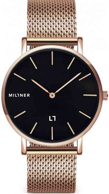 Millner Mayfair Rose Black 39 mm