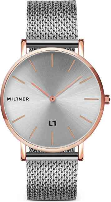 Millner Mayfair Rose Silver 39 mm