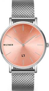 Millner Mayfair Silver Pink 39 mm