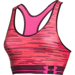 PODPRSENKA UNDER ARMOUR HEATGEAR APLHA P - červená - XS