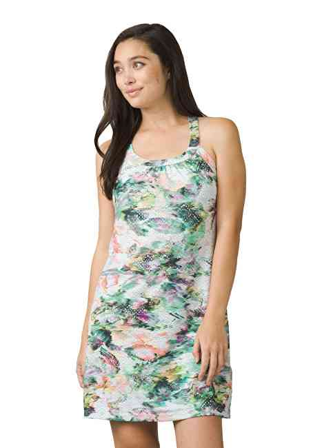 Prana Dámské šaty Cantine Dress White Graceful M