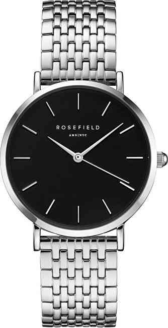 Rosefield The Upper East Side Black Silver