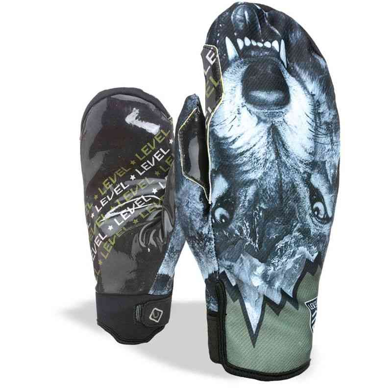 RUKAVICE LEVEL Pro Rider Mitt WS - modrá - ML