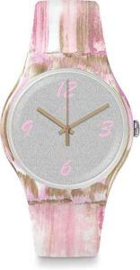 Swatch Pinkquarelle SUOW151