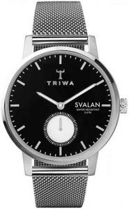 Triwa Ebony Svalan Steel Mesh Super Slim SVST103-MS1212